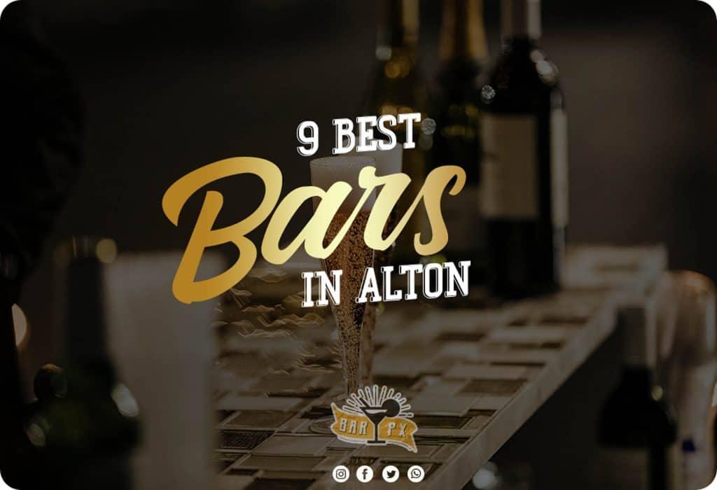 best bars in alton