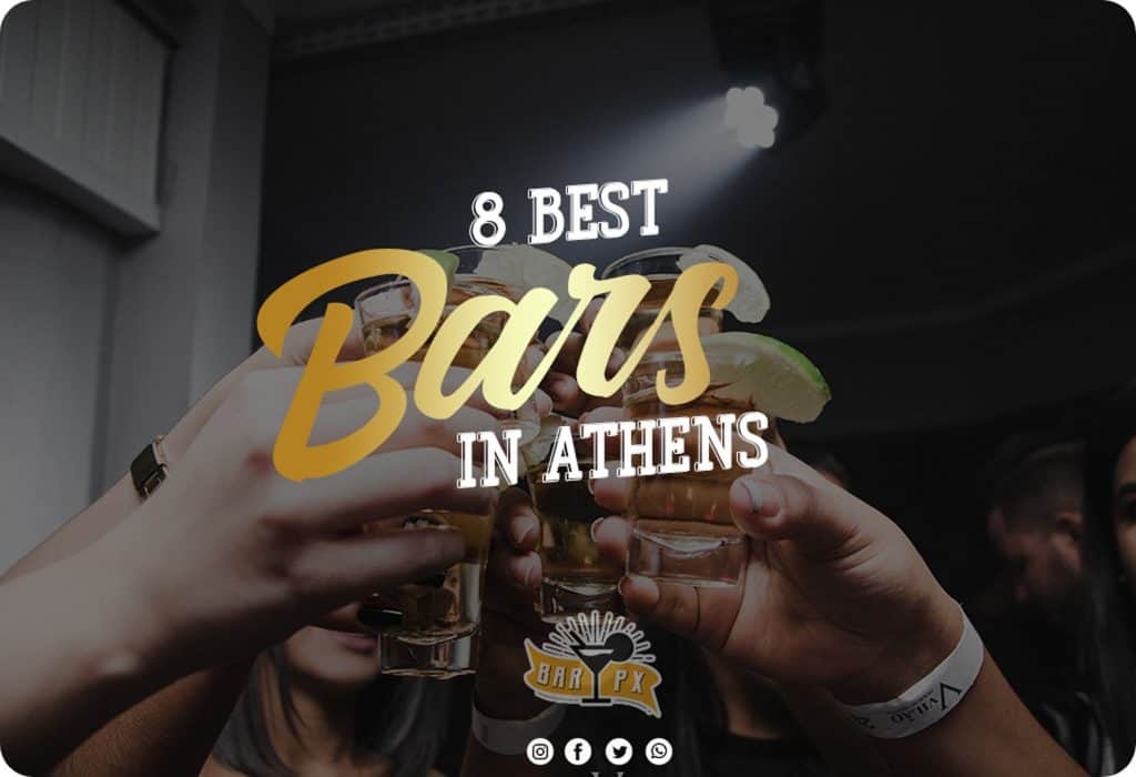 list of 8 best bars in athens